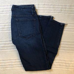 GAP Moto ankle zip skinny jeans